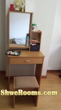 Decent ,Clean Single Room(Female) Near Woodlands MRT
