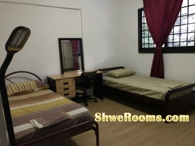 @@@ COMMON ROOMS for LADIES/ဧည့္သည္ @ CLEMENTI -