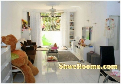 *A big Common Room for single male/female occupancy @ Sembawang MRT*