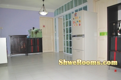 *** Common room to rent at Tampines Ave 5