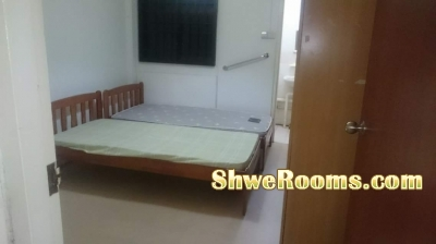One female to share master room at Bedok