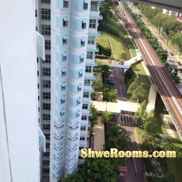 One common bed room and one single bed for rent at Bukit Gombak!!!!!