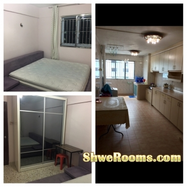 Nearest BEDOK MRT/BUS INTERCHANGE Looking For One Couple Common Room With Air-con (Short Term/Long Term)