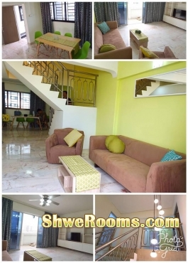 HDB common room for rent at jurong west st 41