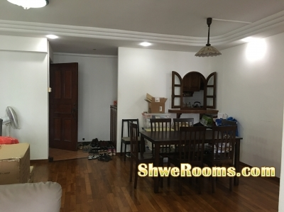 The whole flat @ Toh Guan Road ( no agent fees)