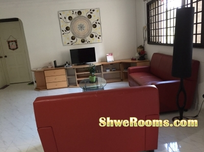 Short term rent for a common room