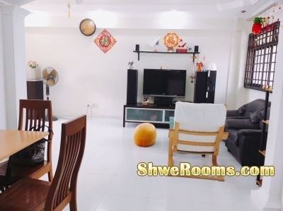 No agent fee 5 mins from Bedok MRT masterbedroom for rent