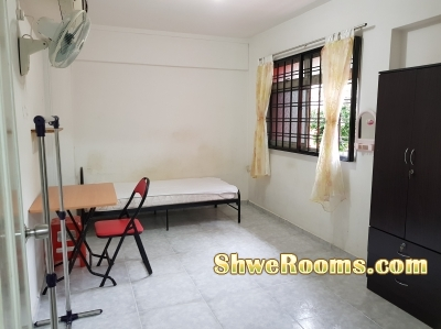 **S$550/Air-Con Room (including PUB) for one person/room to rent near Yew Tee MRT**