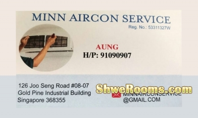 General Aircon Service For Myanmar Friends