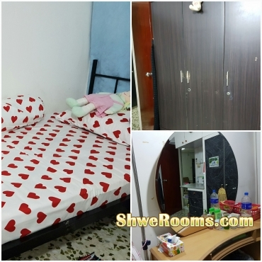 Lady roomate (Common room)