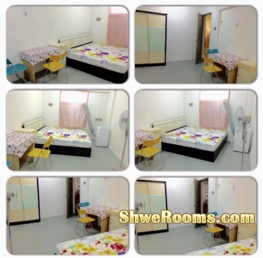 $700 (1st January Available) 2+1 Big common room for Couple (own bath room with attached toilet ) for Rent at Ang Mo Kio Avenue 4 , Blk 114