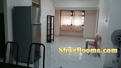 Spacious and Clean Common room for rent ***(Long term)***, 6 min to Yew Tee MRT