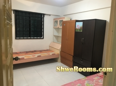 Looking for long/short term for Common room rent at Yishun