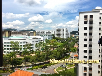 $600 @ 7~10 mins walking distance to WOODLANDS MRT - 1 common Room for rent