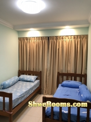 Placent Common Room for two ladies @ Clementi