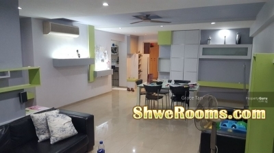 #$340 MALE/FEMALE/COUPLE TO RENT TWO BIG COMMON ROOMS NEAR ADMIRALTY MRT