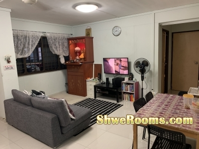 #ONE COMMON ROOM FOR RENT NEAR ADMIRALTY MRT#