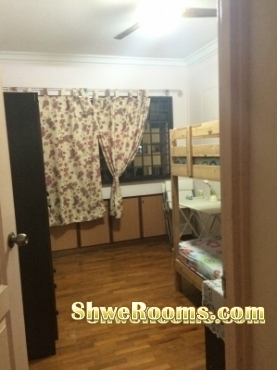 One common room available at tampines (Lady only)