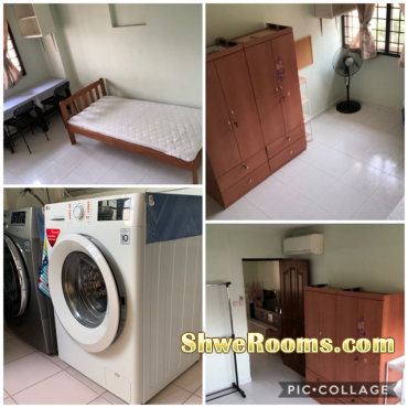 Two single Room  available , Each room $ 600/month, Looking for lady at Blk 732 , JW Street 73, near Boon-lay MRT