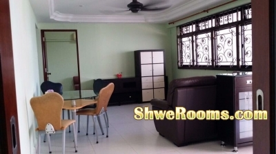 1 male roommate to share in one common room ( both Short & Long Term)