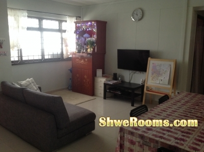 Available One Common Room @ ADMIRALTY